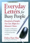 Everyday Letters for Busy People, Rev Ed: Hundreds of Samples You Can Adapt at a Moment's Notice Cover Image