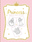 Princess Coloring Book For Kids: For Girls Ages 3-9 - Toddlers - Activity Set - Crafts and Games Cover Image