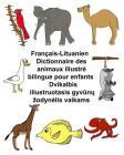 Français-Lituanien Dictionnaire des animaux illustré bilingue pour enfants Cover Image