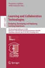 Learning and Collaboration Technologies. Designing, Developing and Deploying Learning Experiences: 7th International Conference, Lct 2020, Held as Par Cover Image