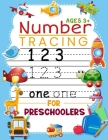 Number Tracing Book for Preschoolers and Kids Ages 3+: Trace Numbers Practice Work book for Pre K, Kindergarten and Kids Ages 3-5, Cursive Handwriting Cover Image