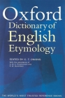 The Oxford Dictionary of English Etymology Cover Image