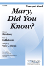 Mary, Did You Know? Cover Image