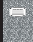 Classic Composition Notebook: (8.5x11) Wide Ruled Lined Paper Notebook Journal (Charcoal Gray) (Notebook for Kids, Teens, Students, Adults) Back to Cover Image