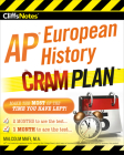 CliffsNotes AP European History Cram Plan Cover Image