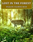 Lost In The Forest: Wildlife Coloring Book Beautiful Forest Animals, Insects, Plants and Birds Cover Image