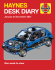 Haynes 2021 Desk Diary: January to December 2021 - One week to view Cover Image