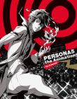 Persona 5 the Animation Material Book Cover Image