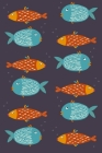 Notes: A Blank Squared Paper Journal with Sarcastic Fish Cover Art Cover Image