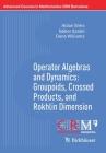 Operator Algebras and Dynamics: Groupoids, Crossed Products, and Rokhlin Dimension (Advanced Courses in Mathematics - Crm Barcelona) Cover Image