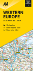 Road Map Western Europe (Road Map Europe) Cover Image