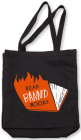 Banned Books Tote (Flames) Cover Image