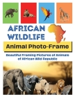 African Wildlife: Beautiful framing pictures of animals of African wild republic Cover Image