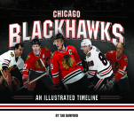 Chicago Blackhawks: An Illustrated Timeline Cover Image