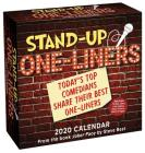 Stand-Up One-liners  2020 Day-to-Day Calendar: Today's Top Comedians Share Their Best One-liners Cover Image