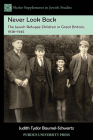 Never Look Back: The Jewish Refugee Children in Great Britain, 1938-1945 (Shofar Supplements in Jewish Studies #10) Cover Image