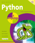 Python in Easy Steps: Covers Python 3.7 Cover Image