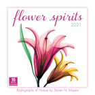 2021 Flower Spirits -- Radiographs of Nature by Steven N. Meyers 16-Month Wall Calendar Cover Image