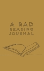 A RAD Reading Journal Cover Image