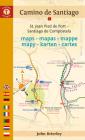 Camino de Santiago Maps: St. Jean Pied de Port - Santiago de Compostela (Camino Guides) Cover Image