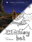 Clumsy Bat: A Children's Coloring Storybook Cover Image