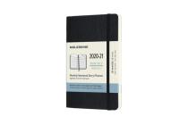 Moleskine 2020-21 Monthly Planner, 18M, Pocket, Black, Soft Cover (3.5 x 5.5) Cover Image