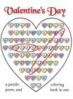 Valentine's Day Word Search: A Puzzle, Poem, and Coloring Book in One Cover Image
