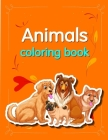 Animals coloring book: Funny Coloring Animals Pages for Baby-2 Cover Image