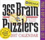 Mensa 365 Brain Puzzlers Page-A-Day Calendar 2017 Cover Image