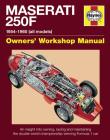 Maserati 250F Manual: 1954-1960 (all models) Cover Image