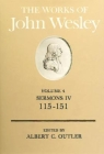 The Works of John Wesley Volume 4: Sermons IV (115-151) Cover Image