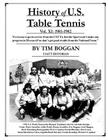 History of U.S. Table Tennis Volume 11 Cover Image