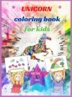 Unicorn Coloring Book Cover Image