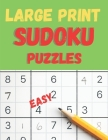 Sudoku Book Easy: 100 Large Print Puzzles Cover Image