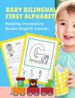 Baby Bilingual First Alphabet Reading Vocabulary Books (English Slovak): 100+ Learning ABC frequency visual dictionary flash card games Angličtin Cover Image