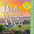 365 Bible Verses-A-Year Page-A-Day Calendar 2020 Cover Image