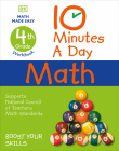 10 Minutes a Day Math, 4th Grade Cover Image
