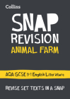 Collins Snap Revision Text Guides – Animal Farm: AQA GCSE English Literature Cover Image