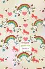 Unicorn gratitude journal for kids Cover Image