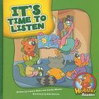 It's Time to Listen (Herbster Readers: First Day of School: Level 2) Cover Image