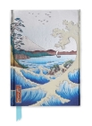 Hiroshige: The Sea at Satta (Foiled Journal) (Flame Tree Notebooks #28) Cover Image