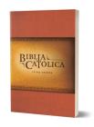 La Biblia Católica: Edición letra grande. Rústica, roja / Catholic Bible. Paperback, red Cover Image