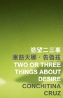Two or Three Things about Desire (Islands or Continents) Cover Image