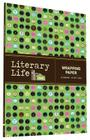 Literary Life Wrapping Paper: 12 Sheets + 24 Gift Tags! Cover Image