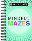 Mini Brain Games Mindful Mazes Cover Image