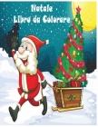 Natale Libro da Colorare: Buon Natale/Natale da Colorare con il Libro di Attività per i Bambini/ 45+ Disegni da colorare di Natale per bambini(f Cover Image