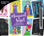 Scratch & Create Magical Tarot: Scratch and Reveal 78 Original Art Tarot Cards Cover Image