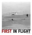 First in Flight: How a Photograph Captured the Takeoff of the Wright Brothers' Flyer (Captured History) Cover Image
