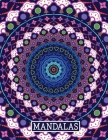 Mandalas: A Stress Relieving Coloring Book For Adults Cover Image