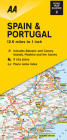 Road Map Spain & Portugal (Road Map Europe) Cover Image